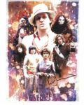 PETER DAVISON  5th Doctor DOCTOR WHO - Genuine Signed Autograph 10X8 COA 5243